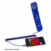 Pyle Home (PITP8BL) Handset for iPhone, iPad, iPod, and Android Phones - Easy Use - Blue