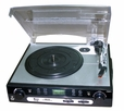 Pyle - PLTTB9U - USB Turntable with direct-to-digital USB/SD Card Encoder & Built-in AM/FM Radio conversion