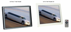 Pyle Home (PLVW15IW) 15'' In-Wall Mount TFT LCD Flat Panel Monitor w/VGA & RCA Input