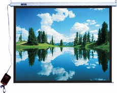 "Pyle Home (PRJES180) 180"" Hanging Electronic Motorized Projector Screen"