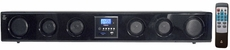 Pyle Home (PSBM200) 6-Way 300 Watt Multi-Source Wall/Shelf Mount Sound Bar w/USB, SD, MP3, FM Tuner & SRS 3D Technology