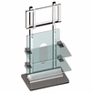 "Pyle Home (PSPSF103) 36""-42"" Flat Panel TV Wall Unit with Acrylic & Steel Shelf"
