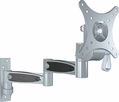 Pyle Home (PSWLB371) 10-24'' Universal Dual Arm Swivel/Articulating LCD TV Wall Mount