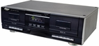 Pyle Home (PT659DU) Dual Stereo Cassette Deck w/Tape USB to MP3 Converter