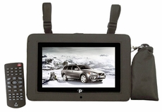 Pyle Home (PTC10LCD) 10.1'' LCD Digital TV with Built-in USB/SD/MP3/MPEG4 For Car/Home Use