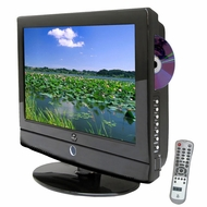 Pyle Home (PTC166LD) 15.6'' Hi-Definition LCD Flat Panel TV w/ Built-In DVD Player