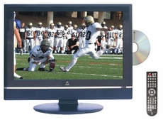 Pyle Home (PTC20LD) 19'' Hi-Definition LCD Flat Panel TV w/ Built-In DVD Player