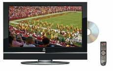 Pyle Home (PTC27LD) 26'' Hi-Definition LCD Flat Panel TV w/ Built-In DVD Player