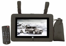 Pyle Home (PTC8LCD) 8'' LCD Digital TV with Built-in USB/SD/MP3/MPEG4 For Car/Home Use
