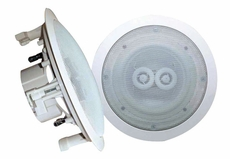 Pyle Home (PWRC62) 6.5'' In-Ceiling (Dual Channel/ Voice Coil) Weather Proof Speaker
