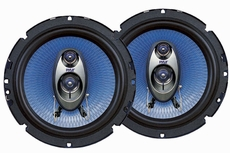 Pyle (PL63BL) 6.5'' 360 Watt Three-Way Speakers