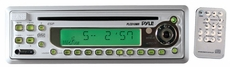 Pyle (PLCD10MR) AM/FM-MPX In-Dash Marine CD/MP3 Player w/Full Face Detachable Panel