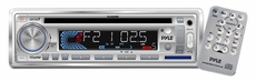 Pyle (PLCD3MR) AM/FM-MPX IN -Dash Marine CD/MP3 Player/USB & SD Card Function