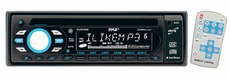 Pyle (PLCD42M) AM/FM-MPX Anti-Shock CD/MP3 Player with AUX, Input & Remote Control