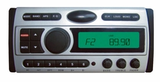 Pyle (PLCDMR97) 1.5-Din AM/FM Receiver / CD/CDR/MP3/AM-FM Marine Grade Player