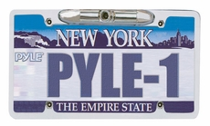 Pyle (PLCM21) License Plate Rear View Backup Camera ''Zinc Metal Chrome""