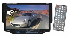 "Pyle (PLD7MU) 7"" Single DIN TFT Touch Screen DVD/MP3/MP4/CD-R/USB/SD/AM/FM/RDS Receiver"