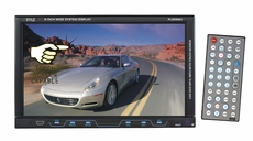 Pyle (PLD89MU) 8'' Single DIN TFT Touch Screen DVD/VCD/CD/MP3/MP4/CD-R/USB/SD/AM/FM/RDS Receiver