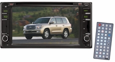 Pyle (PLDNTC65) Direct Factory Replacement for Toyota Land-Cruiser 2000--2006 Touch Screen DVD/MPEG4/MP3/CD-RW/USB/SD/ System With 6.5'' HD Monitor and Bluetooth
