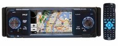 Pyle (PLDNV36) 3.5'' TFT Touch Screen DVD/CD/MP3 Player/AM/FM/SD-USB Receiver w/ Built-in GPS & USA/Canada/Mexico Maps
