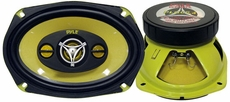 Pyle (PLG69.4) 6'' x 9'' 400 Watt Four-Way Speakers