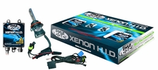 Pyle (PLHIDH13K) 8000K Xenon Dual Beam (Low/High) HID Conversion Kit - H13 Headlamp Bulb