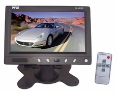 Pyle (PLHR58) 5.8'' TFT Monitor w/Headrest Frame Shroud & Universal Stand