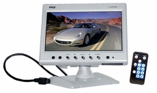 Pyle (PLHR78W) 7'' Widescreen TFT Headrest Monitor in White