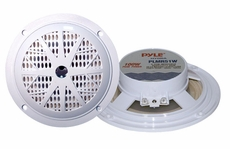 Pyle (PLMR51W) Hydra, 100 Watts 5.25'' 2 Way White Marine Speakers