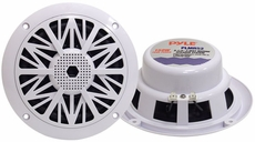 Pyle (PLMR52) Hydra, 150 Watts 5.25'' 2 Way White Marine Speakers