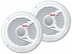 Pyle (PLMR60W) Hydra, 150 Watts 6.5'' 2 Way White Marine Speakers