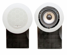 Pyle (PLMR66W) Hydra, 5'' High Quality PP Cone & PU Edge 500 Watts Marine Speakers (White)