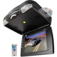 Pyle (PLRD133F) 12.1'' Roof Mount TFT LCD Monitor w/ Built-In DVD Player