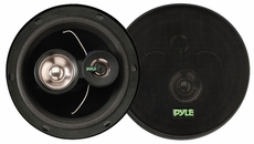 Pyle (PLX63) 6.5'' 180 Watt Three-Way Speakers