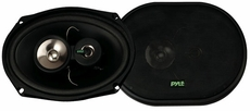 Pyle (PLX693) 6'' x 9'' 300 Watt Three-Way Speakers