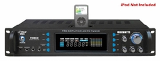 Pyle Pro (P1002AI) 1000 Watts Hybrid Receiver & Pre-Amplifier W/AM-FM Tuner/Ipod Docking Station