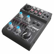 Pyle Pro (PAD20MXU) 5 Channel Professional Compact Audio Mixer With USB Interface