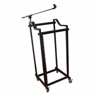 Pyle Pro (PDJSD4) STEEL DJ RACK For MIXER/AMP And All Rack Mountable Products