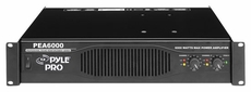 Pyle Pro (PEA6000) Professional 6000 Watts Stereo Power Amplifier