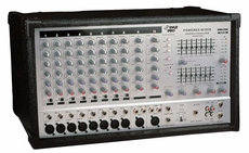 Pyle Pro (PMX1006) 10 Channel 800 Watts Powered Stereo Mixer