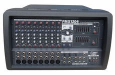 Pyle Pro (PMX1204) 12 Channel Powered 600 Watts PA Mixer/Amplifier