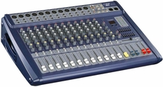 Pyle Pro (PMX1208) 12 Channel 1000 Watts Amplified Ultra Low Noise Stereo digital Effect Mixer With DSP
