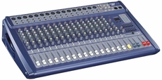 Pyle Pro (PMX1608) 16 Channel 1200 Watts Ultra Low Noise Stereo digital Effect Mixer With DSP