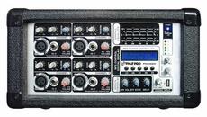 Pyle Pro (PMX402M) 4 Channel 400 Watts Powered Mixer w/ MP3 USB Input