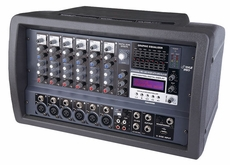 Pyle Pro (PMX408M) 6 Channel 600 Watts Powered Mixer w/MP3 & USB Input