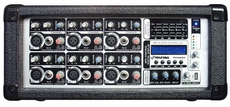 Pyle Pro (PMX602M) 6 Channel 600 Watts Powered Mixer w/ MP3