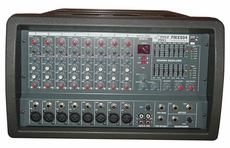 Pyle Pro (PMX804) 8 Channel 400 Watts Professional Powered PA Mixer/Amplifier