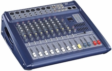 Pyle Pro (PMX808) 8 Channel 600 Watts Digital Powered Stereo Mixer W/DSP