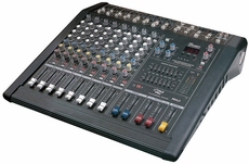 Pyle Pro (PMXL8) 8 Channel 500 Watts Digital (DSP) Powered Stereo Mixer