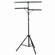 Pyle Pro (PPLS203) DJ Lighting Tripod Stand w/T-bar/Dual Side Bar